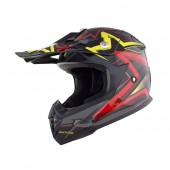 casco moto integral all star mod. hl-0915 talla (m) allen