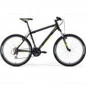 "bicicleta merida matts 100 16"" silk black (grey/neon)"