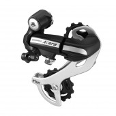 cambio shimano acera rd-m360-sgs 7/8-speed, negro, direct attachment