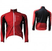 chaqueta shimano soft shell red/black (s)