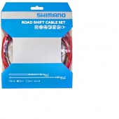 set cables ruta shimano para cambio red