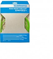 set cables ruta shimano para freno green