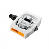 pedal shimano pd-t400-w white click´r (507grs) ms01