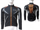 jersey explorer ls black/orange (s) jersey shimano race