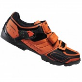 zapatilla shimano  sh-m089 orange 42 mountainbike edicion li