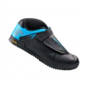 zapatilla shimano am700ml nº 46 black mtb all mountain