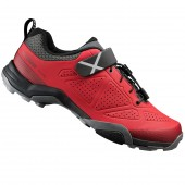 zapatilla shimano mt500mrscc nº 45 red touring mt unisex