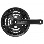 volante shimano fc-ty501 for rear 6/7/8-speed 170mm 48x38x28t w