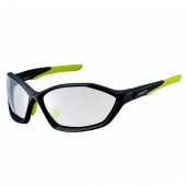 lente shimano 2018 mat black / lime yellow photochromic clear hydro