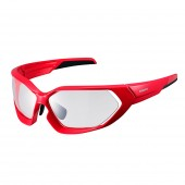 lente shimano 2018 red / black photochromic clear hydrophobic eces51