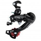 cambio rd-tz500, tz, gs 6-speed, con pata w/riveted adapter(