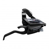 manilla cambio freno shimano st-ef500-7r right 7-speed 2050mm ez-fire plus 2f-alloy for v-brake blac