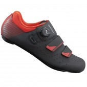 zapatilla shimano modelo sh-rp400 (46) black/orange red 2019