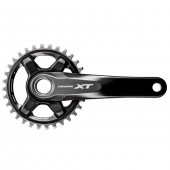 volante shimano deore xt fc-m8000-1, hollowtech 2, for rear 11-speed, 175mm, 34t