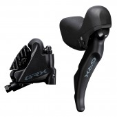 freno hidráulico completo trasero shimano grx  /j-kit direct, st-rx600(r),br-rx400(r) for 25mm