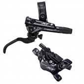 freno hidraulico completo shimano deore xt tras. bl-m8100(r), br-m8120(r), j-kit, w/o adapter, resin