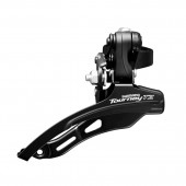 cambiador shimano tourney tz fd-tz510-ds6, for 3(friction)x7/6, down-swing, top-pull, 28.6mm band