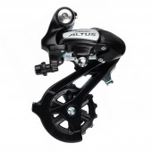 cambio shimano altus rd-m310-l 7-8v. direct attachment black, ind. pack erdm310dl