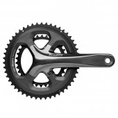 volante shimano tiagra fc-4700, double 175mm 2-pcs fc, for rear 10-speed 50x34t w/o bb parts, ind.pa