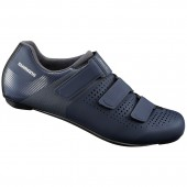 zapatillas shimano modelo sh-rc100 (talla 44) navy, stamped spanish label, andes, ind.pack eshrc100m