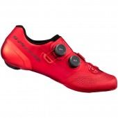 zapatillas shimano modelo sh-rc902 s-phyre (talla 44) red, w/bag, stamped spanish label