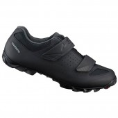 zapatillas shimano modelo sh-me100 (talla 47) black, stamped spanish label, andes, ind.pack eshme100