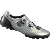 zapatilla shimano modelo sh-xc901 (talla 43) silver, w/bag, stamped spanish label, andes, ind.pack e