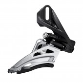 cambiador shimano fd-m4100-d, deore, for 2x10, side swing, front-pull, direct mount, cs-angle:66-69,